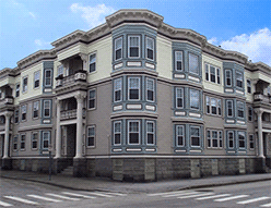 The Allyson Apartments Is A Recognizable Historic Landmark In Manchester Victorian Style Were Built 1889 And Include Unique Features